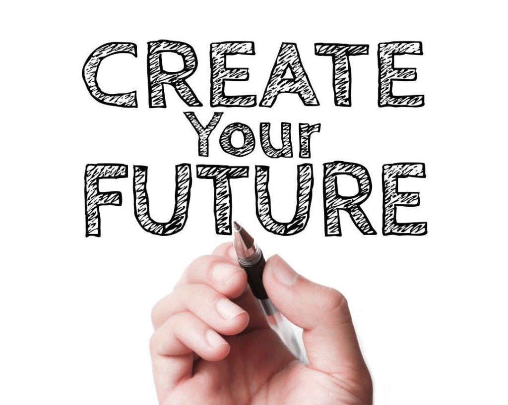 Create your future poster Gary Hall coaching