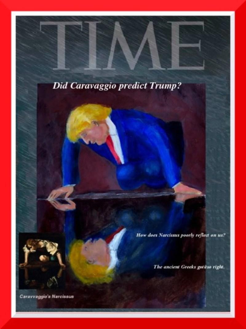 Trumpcissus (Trump on Time Cover)