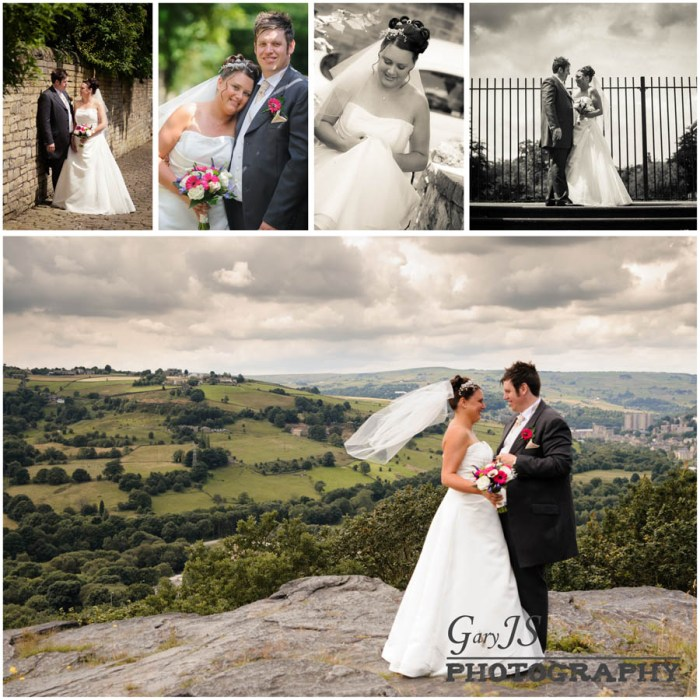 Garden Landscaping In Halifax Huddersfield West: Lee And Gayle's Wedding Photography