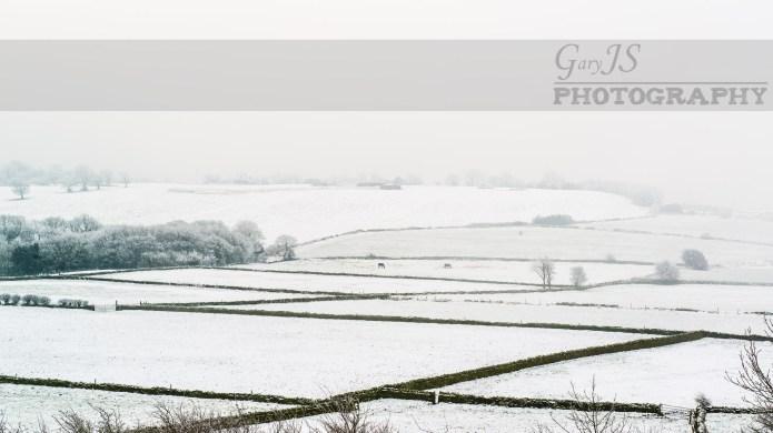 Snow Fields - Farnley Tyas