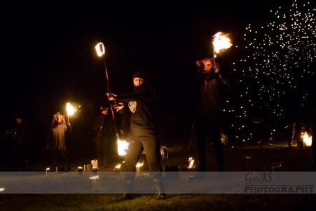 Imbolc Festival 2014 - Fire Staff