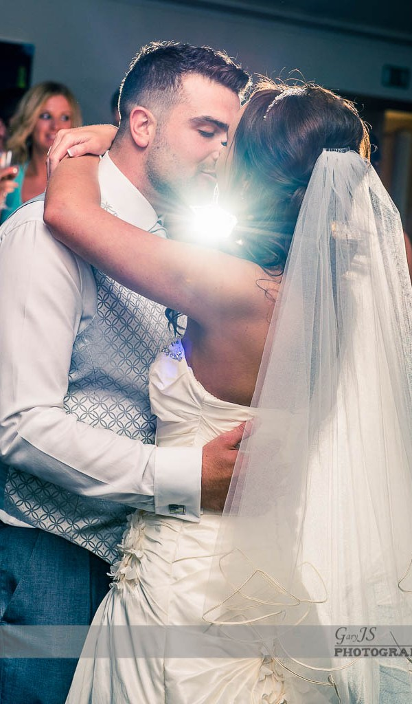 First dance as a married couple at the Saddleworth hotel