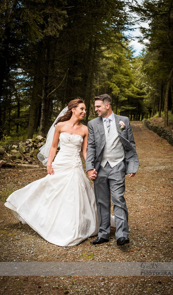 Relaxed wedding photography of Carl and Hayley at The Saddleworth Hotel