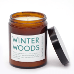 Scented Candle In A Glass Winter Woods Gary Mash