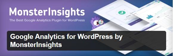 Best WordPress plugins Monster Insiights