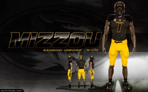 Mizzou-Tiger-Nike-Uniform-Gold-Pants-Anthracite-Jersey