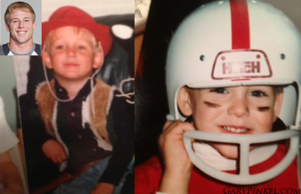 Mizzou Quarterback Corbin Berkstresser had many costumes as a kid including a cowboy and of course, a football player.