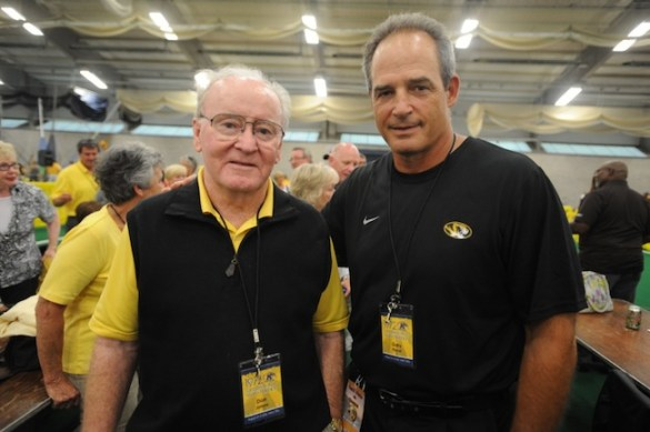 Don James and Gary Pinkel