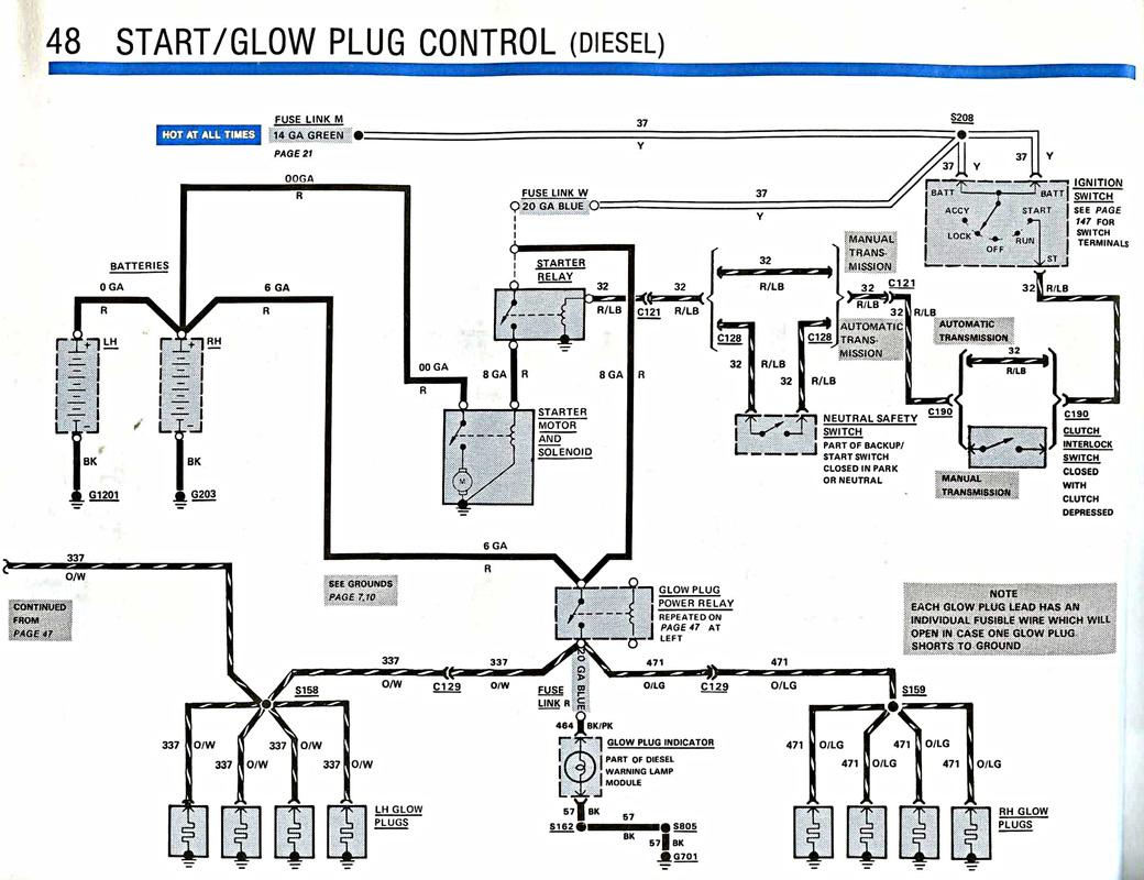 Start Amp Glow Plug Control
