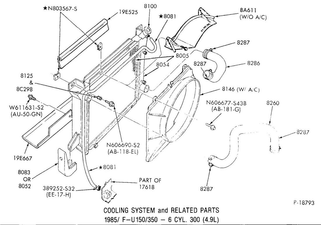 Cooling System Illustrations