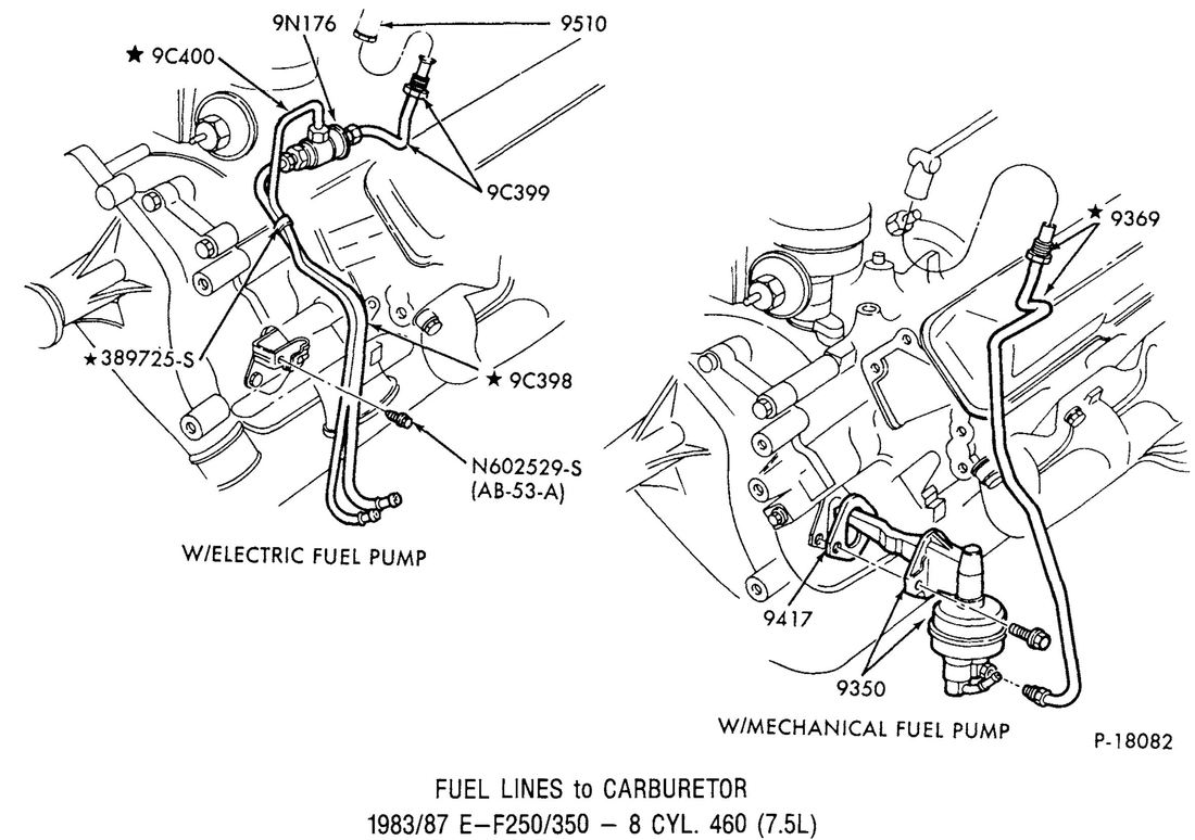 Diagram Ford F350 Fuel System Diagram Full Version