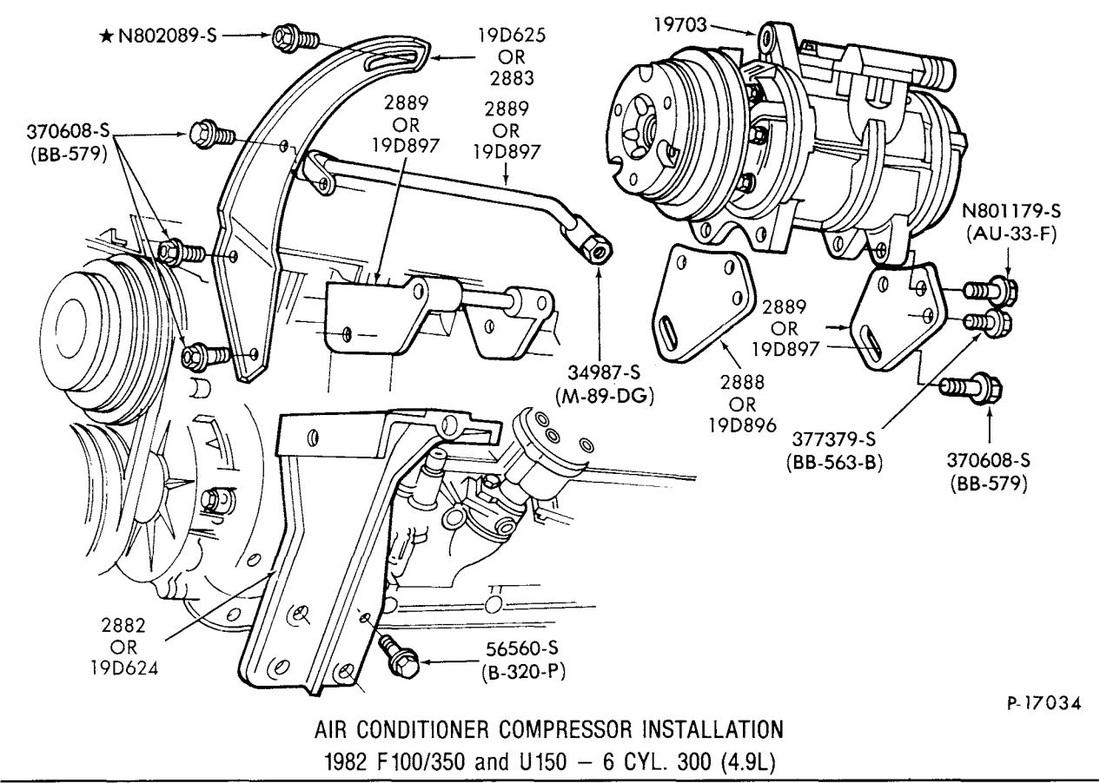 300 Six Compressor Illustrations