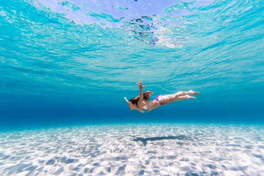 Swimming in the sea can help kick start your immune system