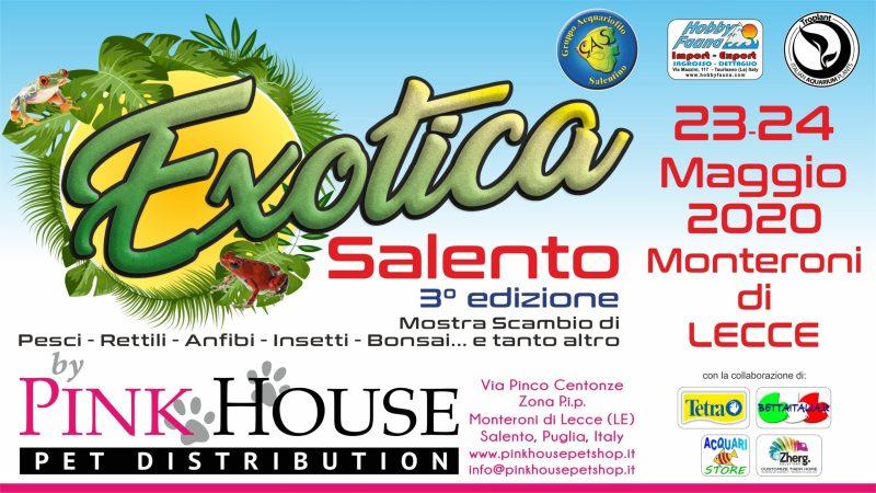 3° EXOTICA SALENTO Monteroni 23-24 Maggio 2020