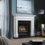 Ethos 750 gas fire with frindley mantel