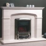 Cheltenham limestone fireplace