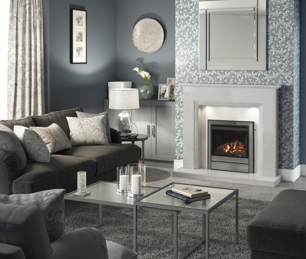 Rosia Suround WIth Chollerton Gas Fire