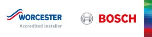 Worcester Bosch accredited installer Logo