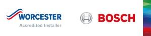 Worcester Bosch accredited installer Logo