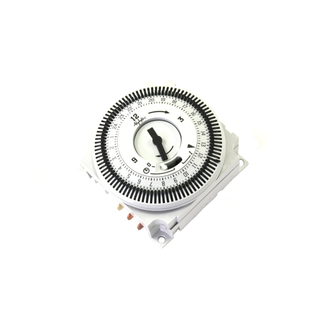 Timeclock 24 Hour Mechanical Plug In Type