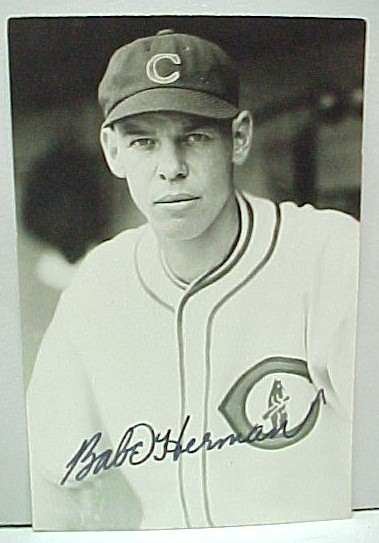 Babe Herman was the last player to hit for the cycle three times when he hit for the cycle while with the Cubs in 1933.
