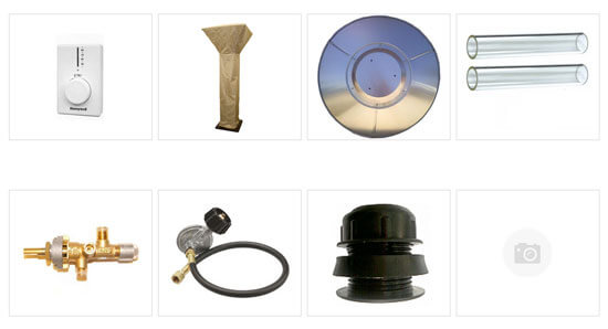 outdoor patio heaters gas electric