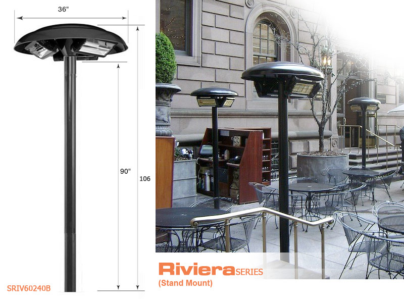 patio heater parts electric gas