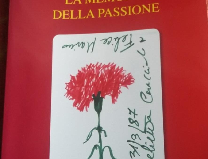 LA MEMORIA DELLA PASSIONE di Felice Marino – Recensione
