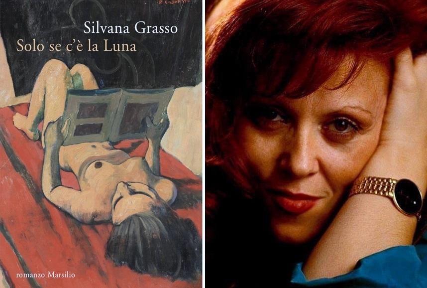 Solo se c'è la luna di Silvana Grasso. Recensione
