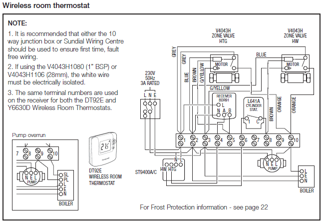 Honeywell Sundial S Plan 2 mammoth chiller dry cool wiring diagram propane heat control Boiler Wiring Diagram at nearapp.co