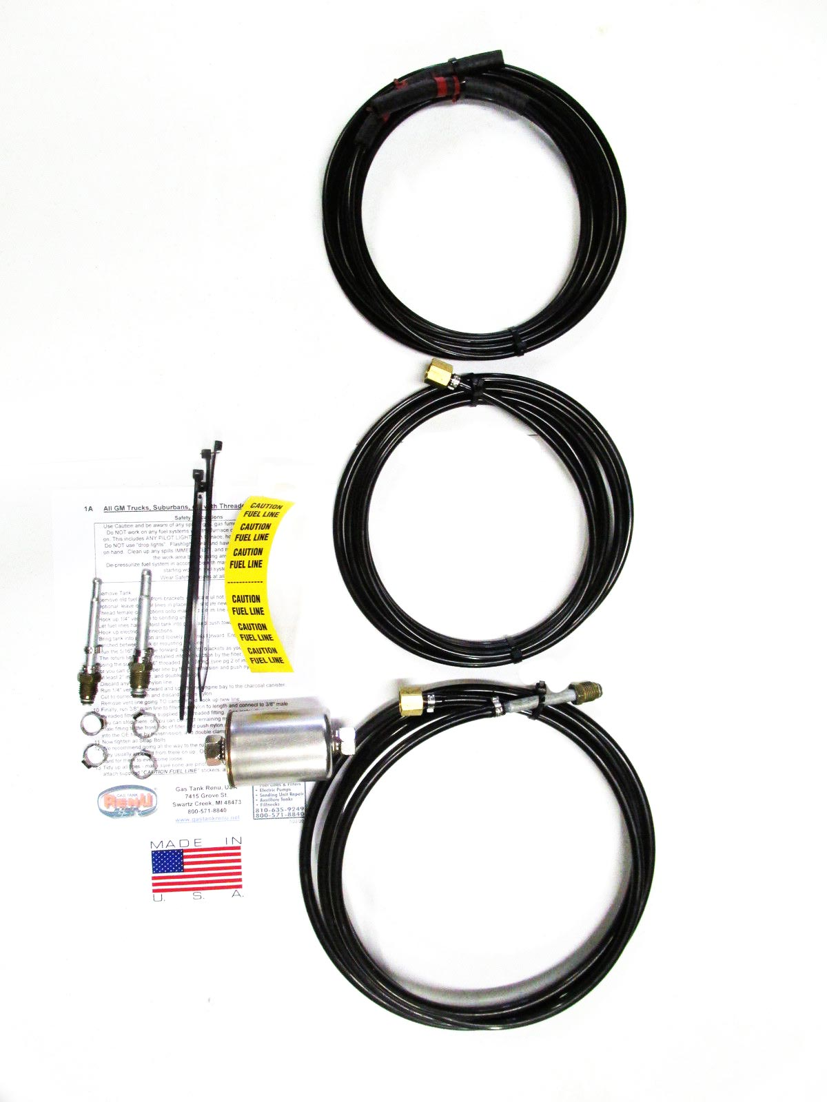 Gmc Pick Up Fuel Lines