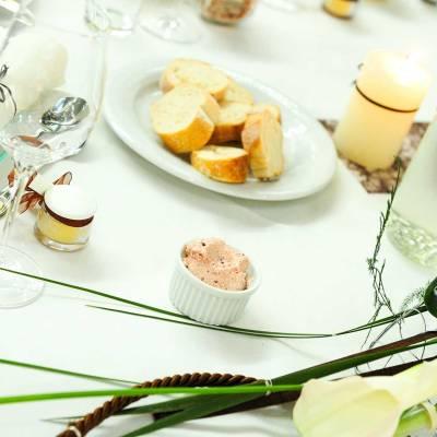 Tischdekoration Hochzeit Salzhof Freistadt - Gasthaus Vis A Vis