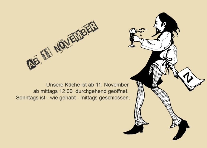 Restaurant Gasthaus Zahm - die Marktwirtschaft: Neue Öffnungszeiten