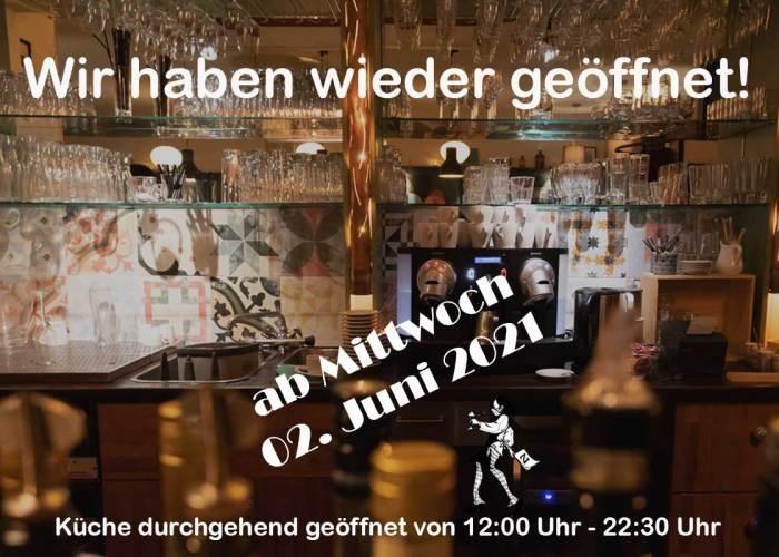 Restaurant Gasthaus Zahm - die Marktwirtschaft: Wir haben ab 2. Juni wieder geöffnet!