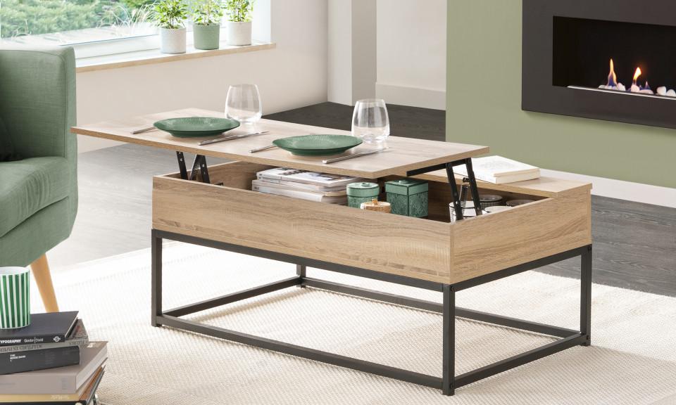 table basse plateau relevable manufacture