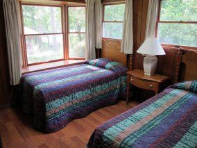 Bedroom at resort in Arkansas