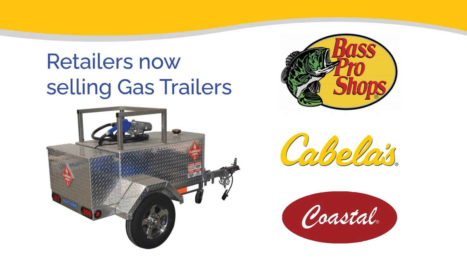 You are currently viewing Robinson Gas Trailers available through Bass Pro Shops, Cabela's