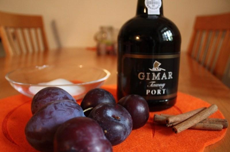Rezept: Weinselige Pflaumen