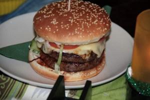 Cheeseburger im Kildare City Pub