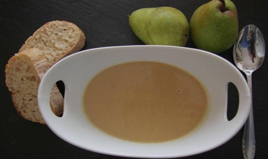 Rezept: Birnen-Sellerie-Gorgonzola Suppe