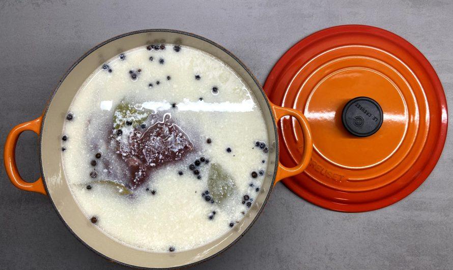 Rezept: Sauerbraten in Buttermilch