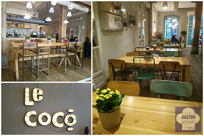 Interior del restaurante Le Coco