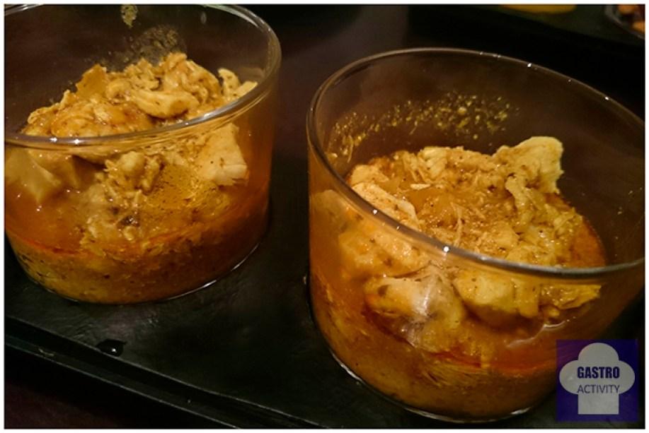 pollo al curry en taberna del chato madrid