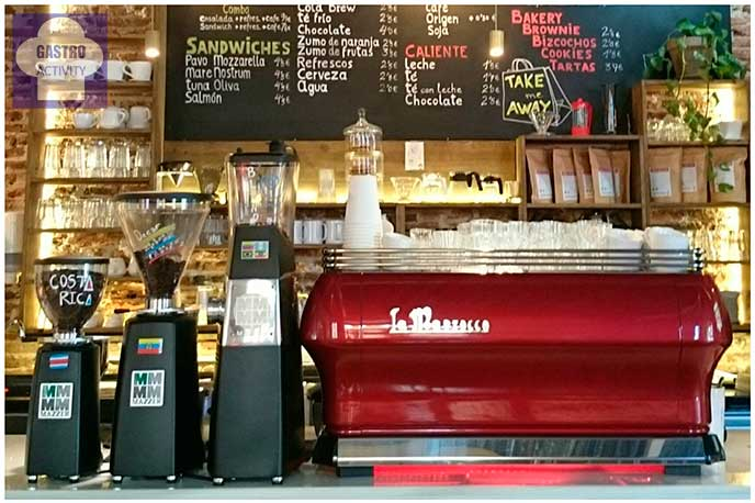 La Marzocco, máquina de café