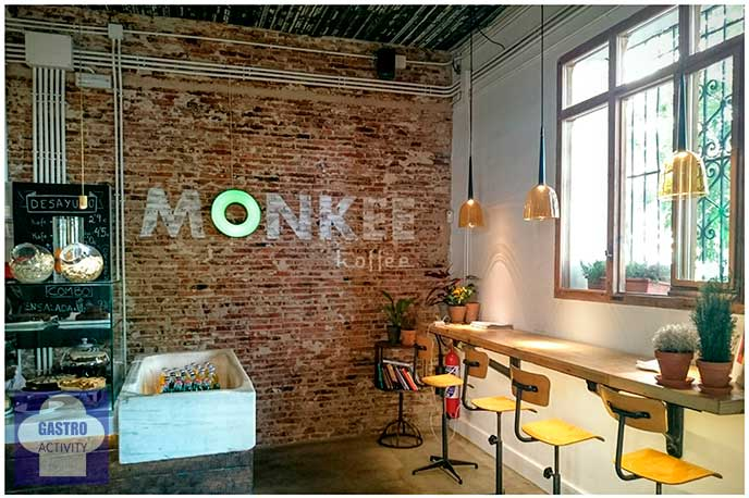 Barra de Monkee Koffee