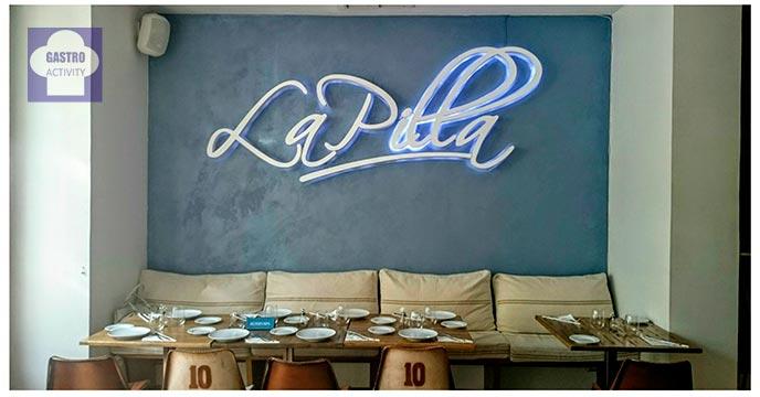 Luminoso Restaurante La Pilla Madrid