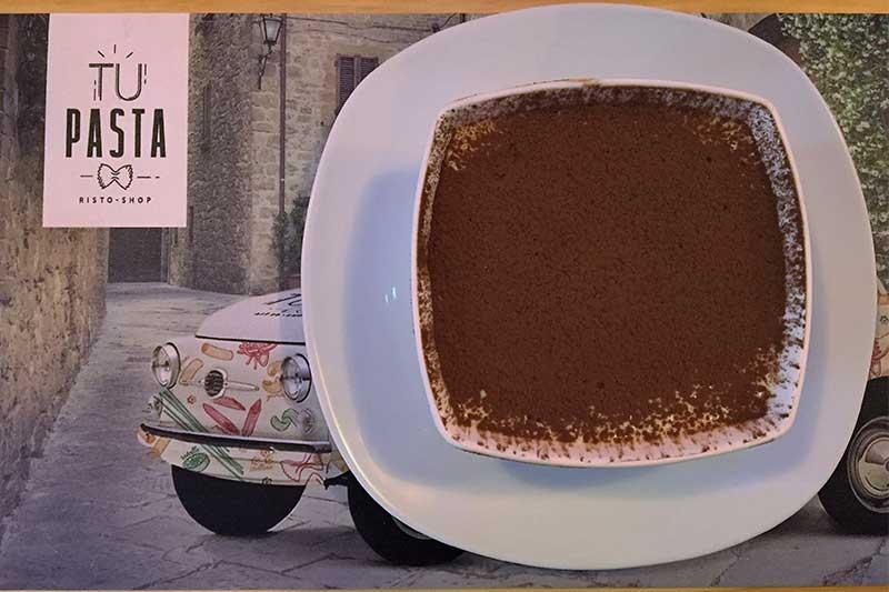 Tiramisu restaurante italiano ¡Tu Pasta!