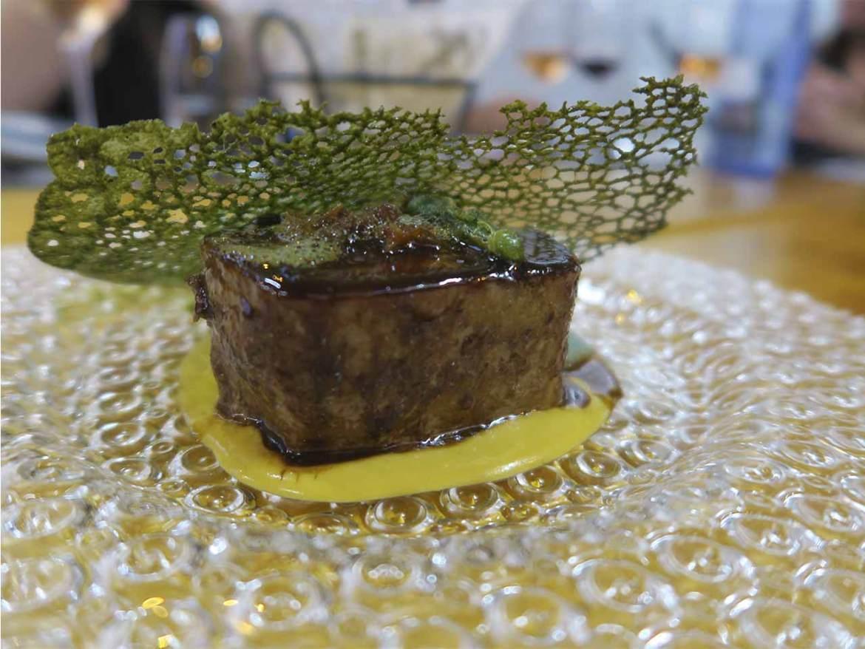 Restaurante Shalakabula Madrid Morrillo de atún guisado y glaseado