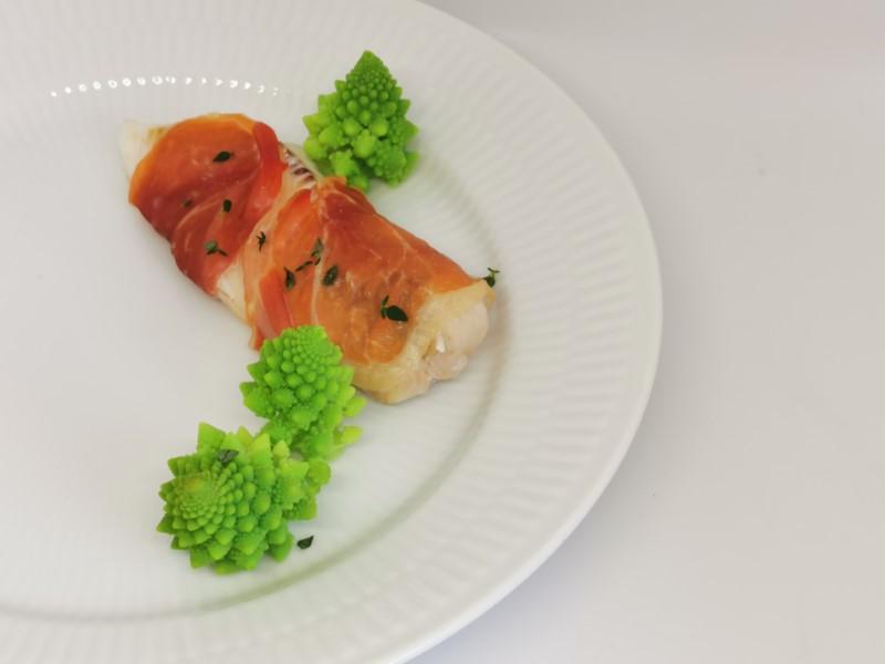 Romanesco med torsk