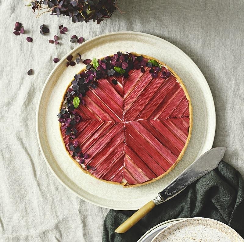 Rabarber tærte